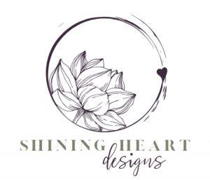 Shining hearts logo